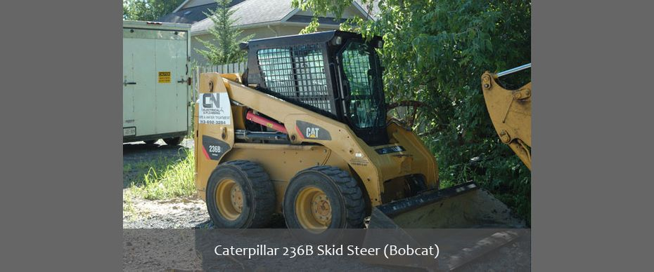 Caterpillar 236B Skid Steer (Bobcat)